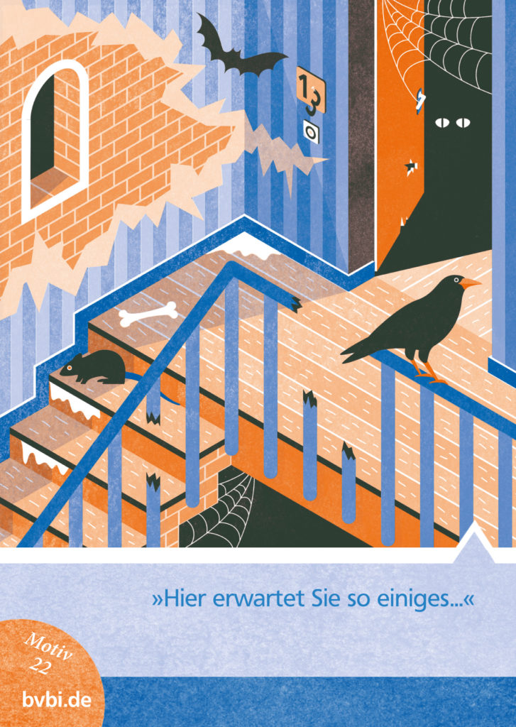 BVBI-Postkarte Motiv 22: »Hier erwartet Sie so einiges...«