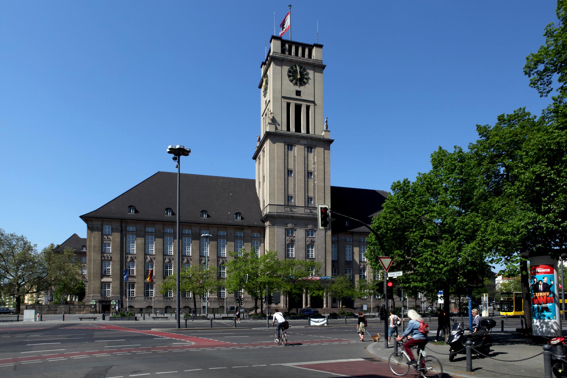 Das Rathaus in Schöneberg